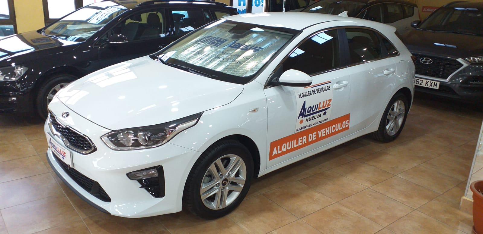 Alquiler de vehículos Gama Alta en Alquiluz Huelva