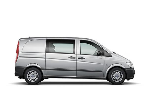 Alquiler furgoneta Mercedes Vito 5m3